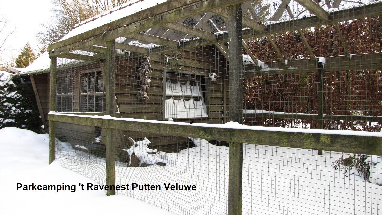 Winter op Parkcamping 't Ravenest